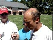 2010 Fall Camp--Coach Riley Day 13