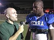Jason Gibson from Serra talking recruiting