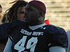 Sedrick Ellis at the Senior Bowl
