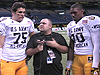 Trojan Oline Trio at All-American Game