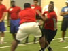 AMP: Texas NIKE Camp OL battle DL Pt.1