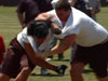 Columbia NIKE Camp: OL vs DL