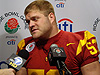 USC Players at Rose Bowl Media Day