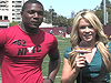 Tony Jefferson at the 2009 LA NIKE Camp