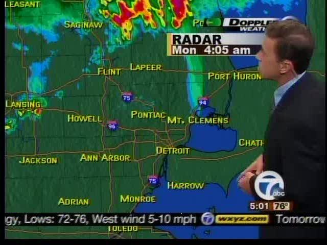 Forecast 7/18 5am
