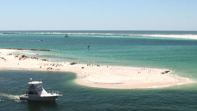 Florida's white sand beaches