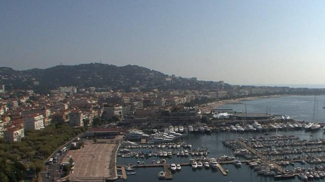 Explore Cannes by land, air and sea