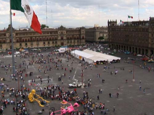 Mexico City's Zocalo