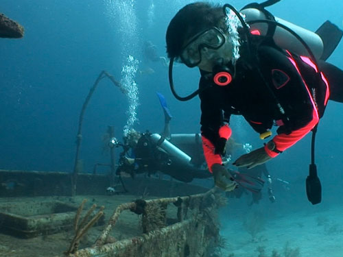 Shipwreck Diving in Nassau