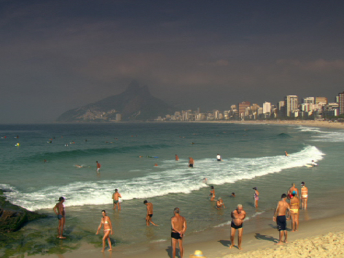 Ipanema Beach, Rio De Janeiro, Brazil