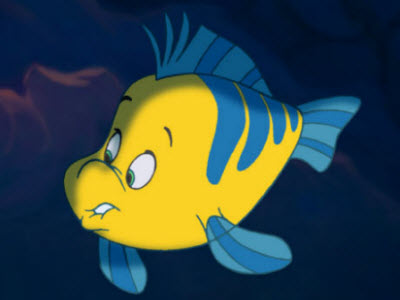 flounder little mermaid duplicate