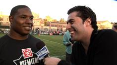 NFL Legends and Celebs Take to the Gridiron