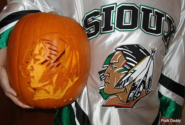 Hockey Halloween: Teen Wolf, Canuck costumes, Stanley Cup pumpkins