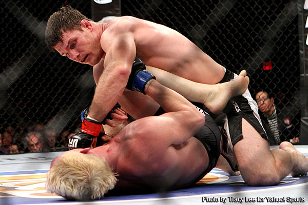 Jason Miller gasses early, Michael Bisping abuses the TV star to win main event at &#8216;TUF 14 Finale&#8217;
