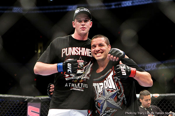 UFC is pleased with Pat Barry, he?ll be staying around