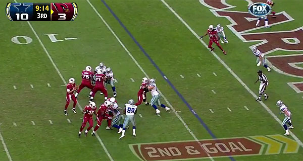Target Practice, Week 13: Larry Fitzgerald, cursed by Kolb