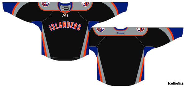 Pass or Fail: New York Islanders third jersey for 2011-12