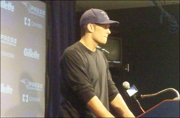 Breaking News: Tom Brady has cut his hair