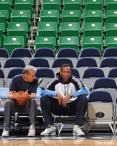 Adrian Dantley says he was fired because he wouldn't switch bench seats