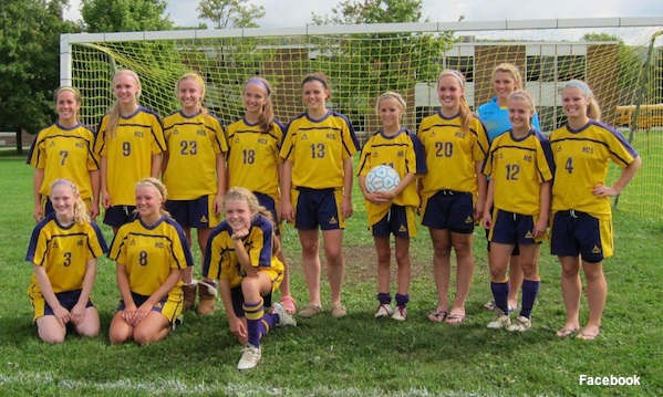 Holland girls soccer