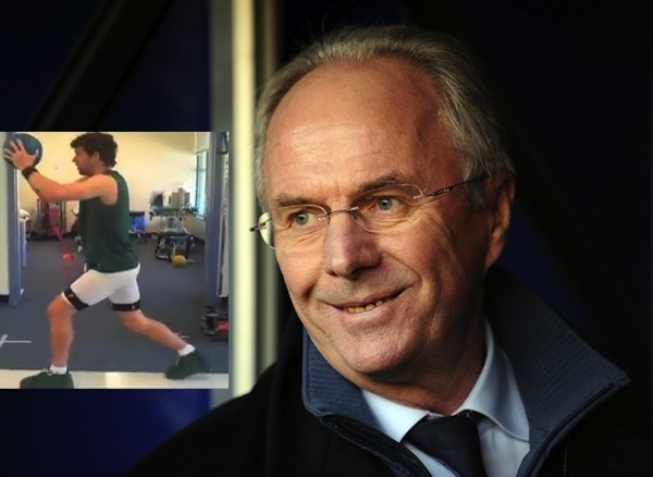 Hargreaves? training videos worked on Sven-Goran Eriksson