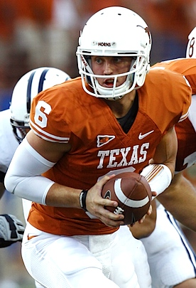 Reorientation: Growing 'Horns leave Garrett Gilbert behind