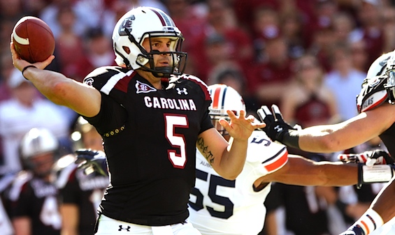 South Carolina forced to abandon 'Wounded Warrior' motif after warmups