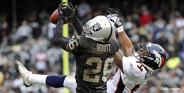 Raiders' Routt has no fear of constant man coverage