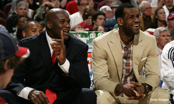 It is now LeBron James' turn to be ripped on by Shaq in his new book