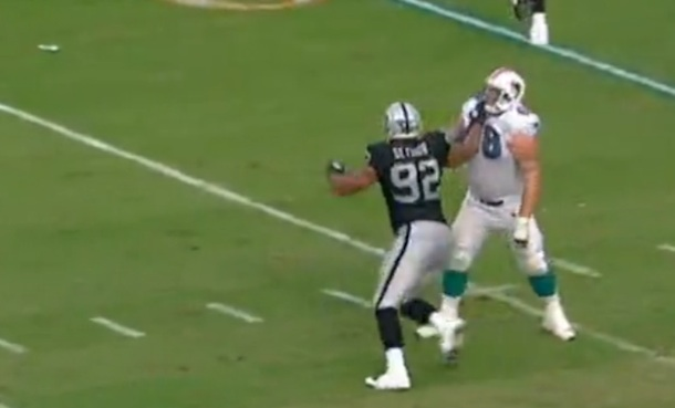 Should Richard Seymour have been ejected for this punch?