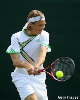 Photos: Players often flaunt Wimbledon's white clothing rule