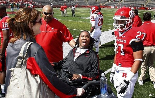 Eric LeGrand update: Paralyzed lineman reports movement in arms