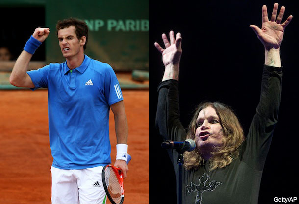 Andy Murray says he has more pills in him than Ozzy Osbourne