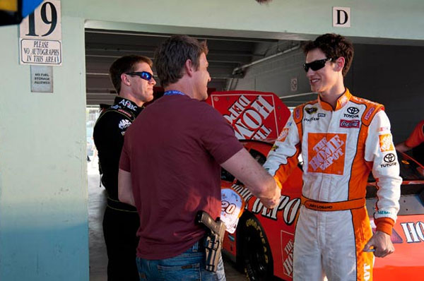 Check out your NASCAR heroes on an episode of 'The Glades'