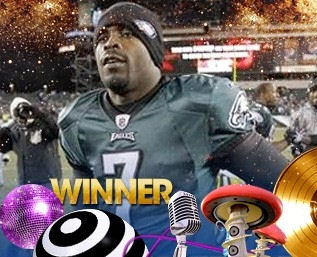 Michael Vick won a BET award, so don't eat Subway sandwiches