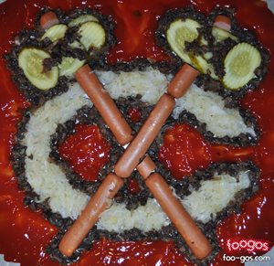 Eat the NHL: Check out Foogos, food-created hockey logos