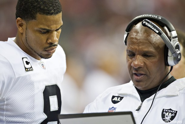 Jason Campbell found out about Palmer trade via television