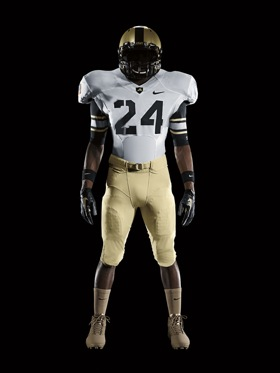 New uniforms for Army-Navy are tame, but classy