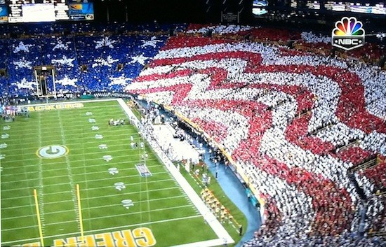> Packers crowd gets patriotic with huge American flag display (pics) - Photo posted in BX SportsCenter | Sign in and leave a comment below!