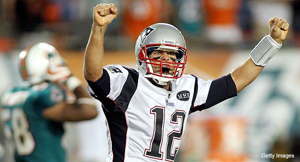 Brady, Welker, Janikowski tie major NFL records on the same night