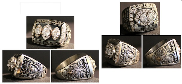 Ray Guy sells his three Super Bowl rings for $80,100