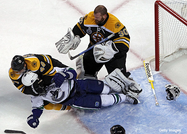 Bourne Blog: Canucks must stop playing the Bruins' game