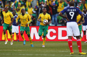 Bafana Bafana were the latest team to put les Bleus in their place, and here's how all the individual players fared...
