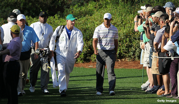 Joe LaCava leaves Dustin Johnson to caddie for Tiger Woods