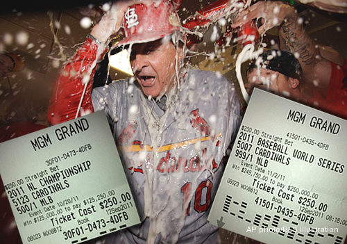 Fan in Vegas bet Cardinals to win World Series at 999-to-1 odds