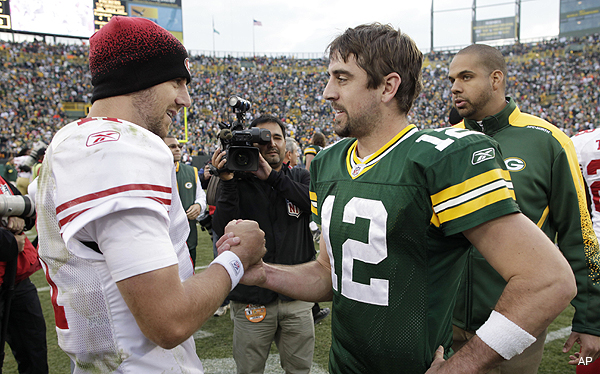 Aaron Rodgers wanted to play in San Francisco all along