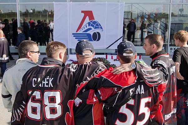 Gallery: Worldwide tributes to Lokomotiv plane crash victims