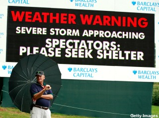 Hurricane Irene shortens Barclays to 54-hole event
