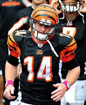 Andy Dalton now the franchise future for ascending Bengals