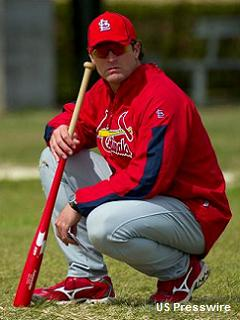 Cards select Mike Matheny as Tony La Russa's successor